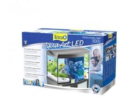 Tetra AquaArt LED аквариумный комплекс 100 л с LED освещением