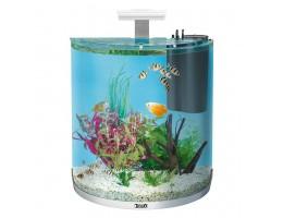 """Tetra AquaArt LED  60 л - аквариумный комплекс с LED освещением """"Полумесяц"""" белый"""