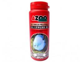 AZOO 9 in 1 Discus Pellet (Blue) (Гранулы для дискусов, синие) 330мл