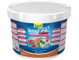 TetraPro Color Crisps корм-чипсы для улучшения окраса всех декоративных рыб 10 л (ведро)