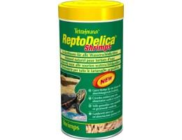 Tetra ReptoMin Delica Shrimps корм с креветками для водных черепах 1 л