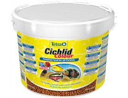 TetraCichlid Colour корм для всех видов цихлид для улучшения окраса 10 л (ведро)