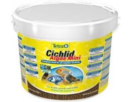 TetraCichlid Algae Mini корм для всех видов цихлид 10 л (ведро)