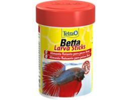 Tetra Betta LarvaSticks корм в форме мотыля для петушков и других лабиринтовых рыб 100 мл