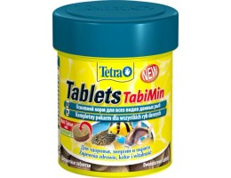 TetraTabletsTabiMin корм для всех видов донных рыб 120 таб.