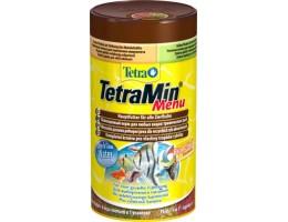 """TetraMenu корм для всех видов рыб """"4 вида"""" мелких хлопьев 250 мл"""