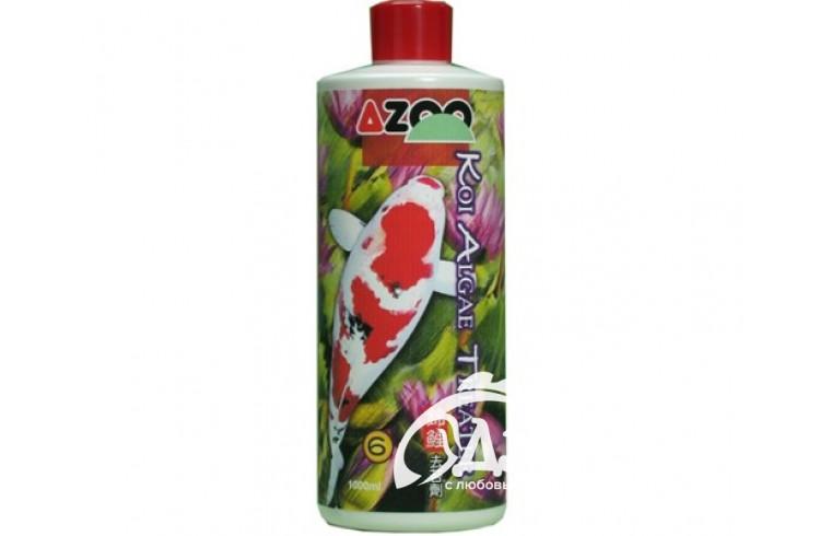 Кондиционер AZOO для прудовых рыб «Нейтрализатор водорослей» 4000мл
